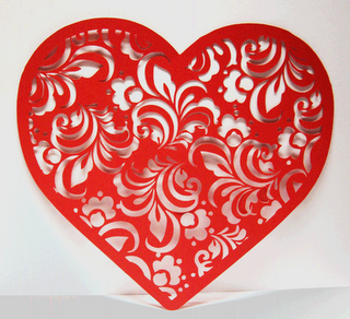 Paper Pulse Blog Spot Valentine Lace Heart Freebies