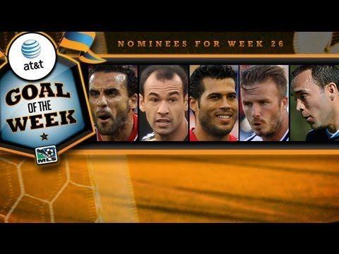 Wilman Conde Receives MLS Week 26 Goal of the Week Nomination