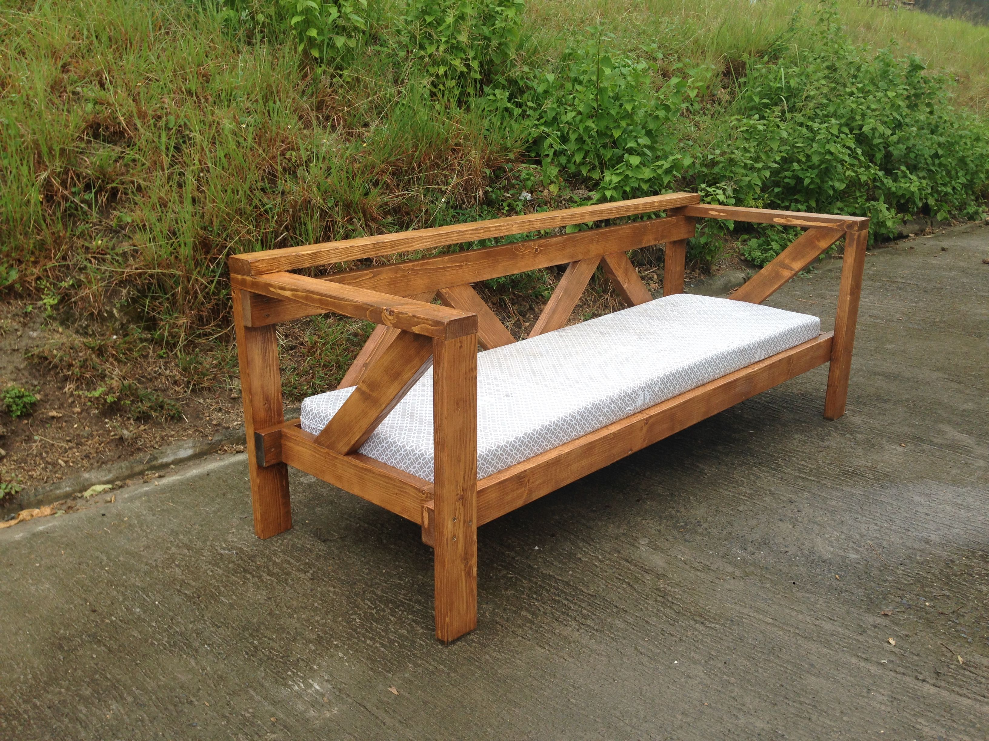 Diy Wooden Frame Sofa Xgood