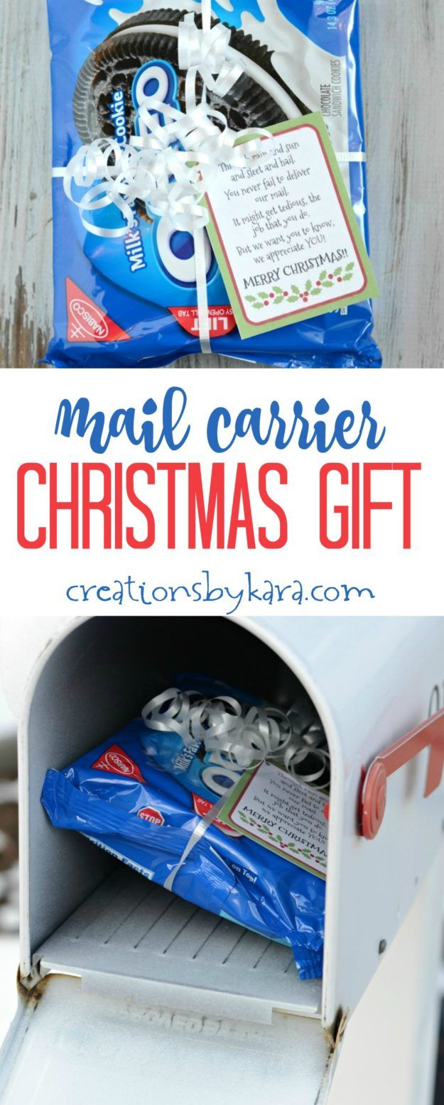 Gratitude gifts for Christmas Mail Carriers are working their bums ...