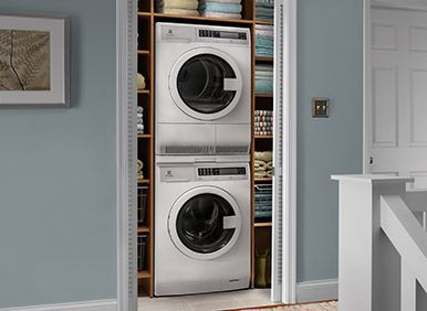 Stackable Washer Dryer Frame For Those Units That Aren T Made To Stack Laundry Room Storage Shelves Laundry Room Storage Small Laundry Room Organization
