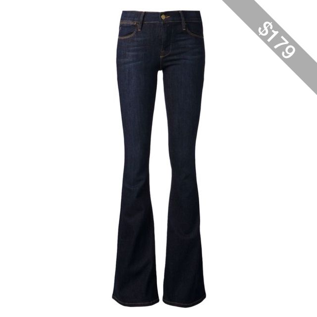 Frame Denim High Rise Flare Jeans