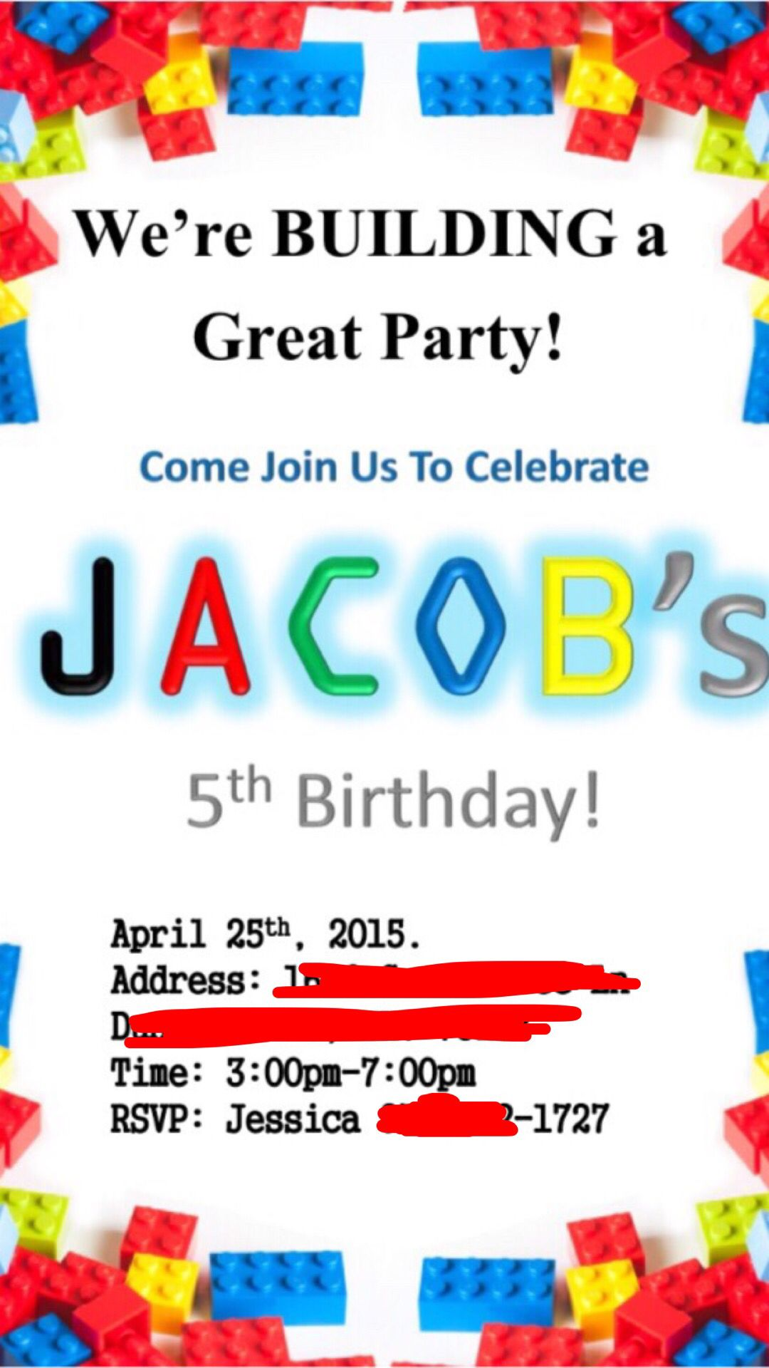 Lego invite free printable | Lego Movie birthday party | Pinterest ...