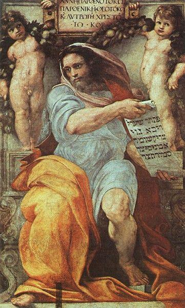 The Prophet Isaiah - Raphael
