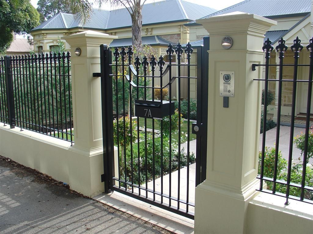 Front Gates Inspiration Hindmarsh Fencing Wrought Iron