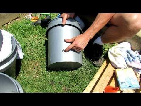 1 Of 2 How To Build A 5 Gallon Self Wicking Tomato Watering Container Garden Help Garden Yard Ideas Tomato Garden