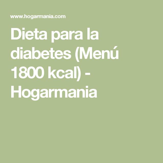 dieta de 1800 calorías diarias