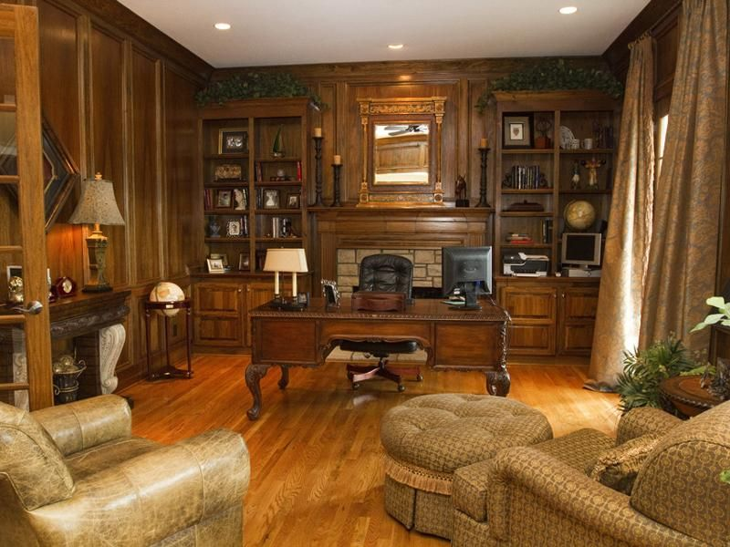 New York Brownstone Victorian Interior Style Built In 1842. Victorian Home Library Mansion