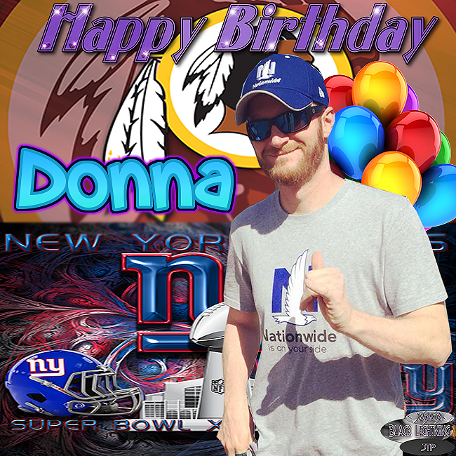Happy Birthday Donna With Dale Jr