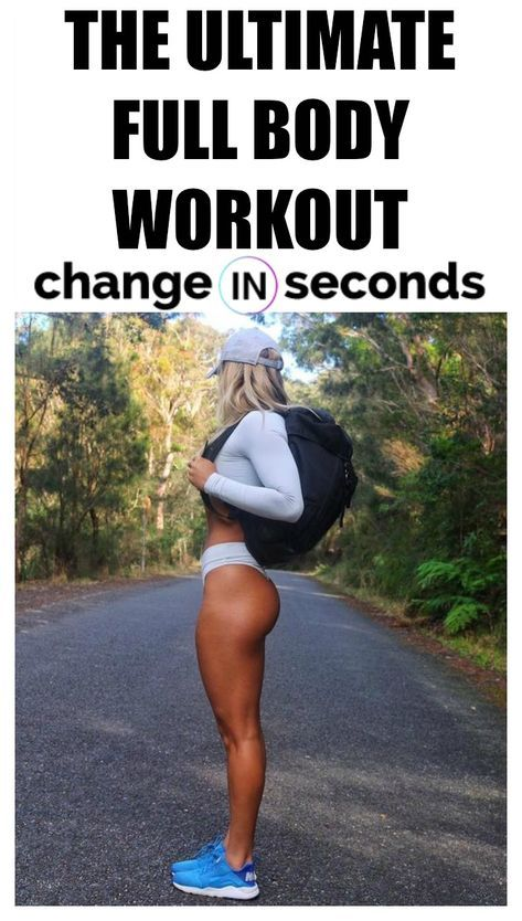 The Ultimate Full Body Workout Routine! Print and share the best total body workout to lose weight and get in shape