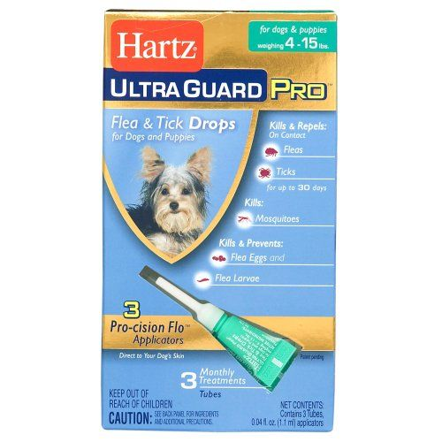 Hartz UltraGuard Pro Drops For Dogs 415 Lbs Review http