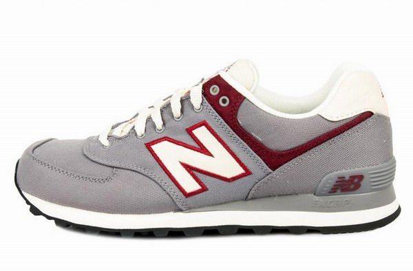 Joes New Balance ML574RUB Red White Grey Rugger Mens Shoes