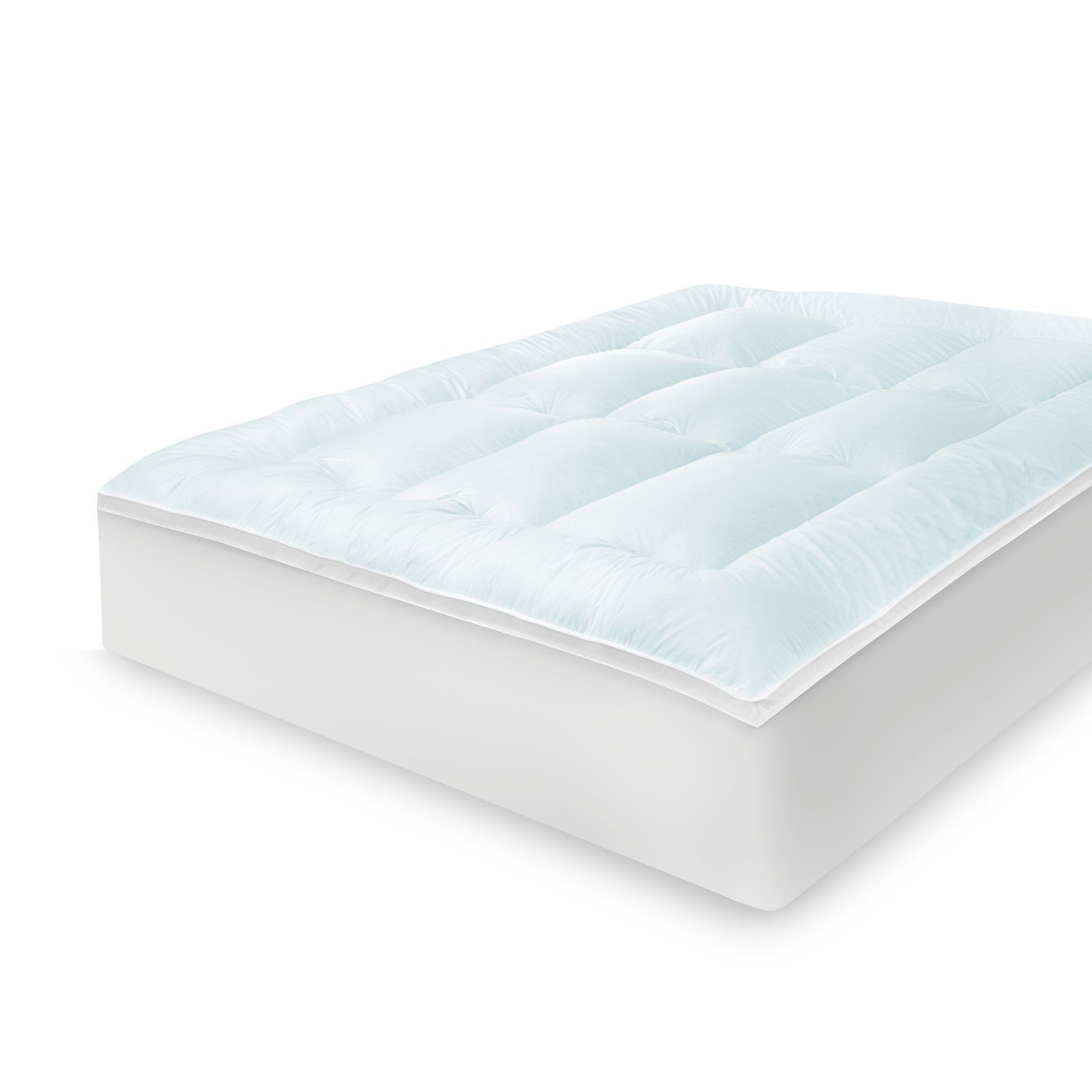 Zinus 2 In Twin Gel Memory Foam Mattress Topper Hd Swft 200t In
