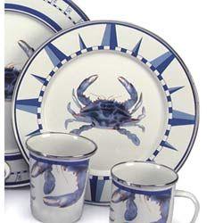 Dinnerware | Bellacor  sc 1 st  Pinterest & Pin by Dee Porter on ~happy Crabs~ | Pinterest | Cobalt blue Cobalt ...