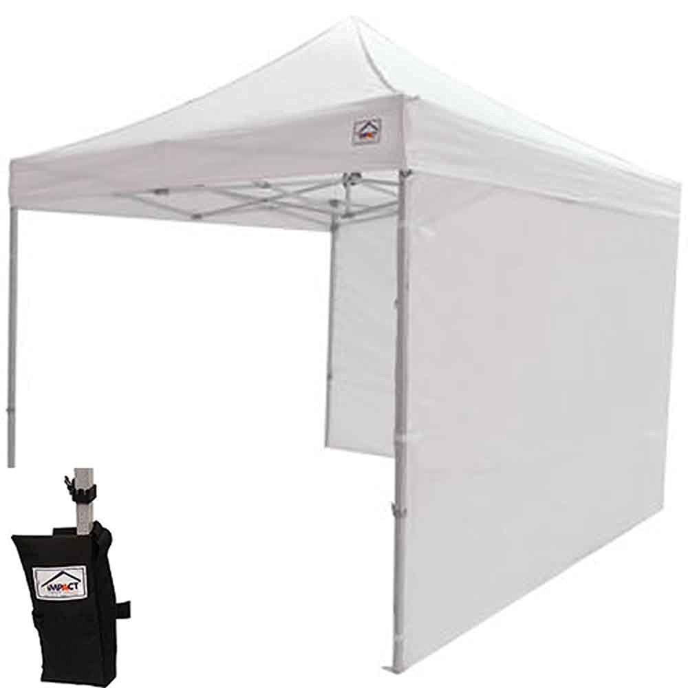 Impact Canopy 10x10 EZ Pop up Commercial Canopy Tent Gazebo with Matching Sidewalls Weight Bags  sc 1 st  Pinterest & Impact Canopy 10x10 EZ Pop up Commercial Canopy Tent Gazebo with ...