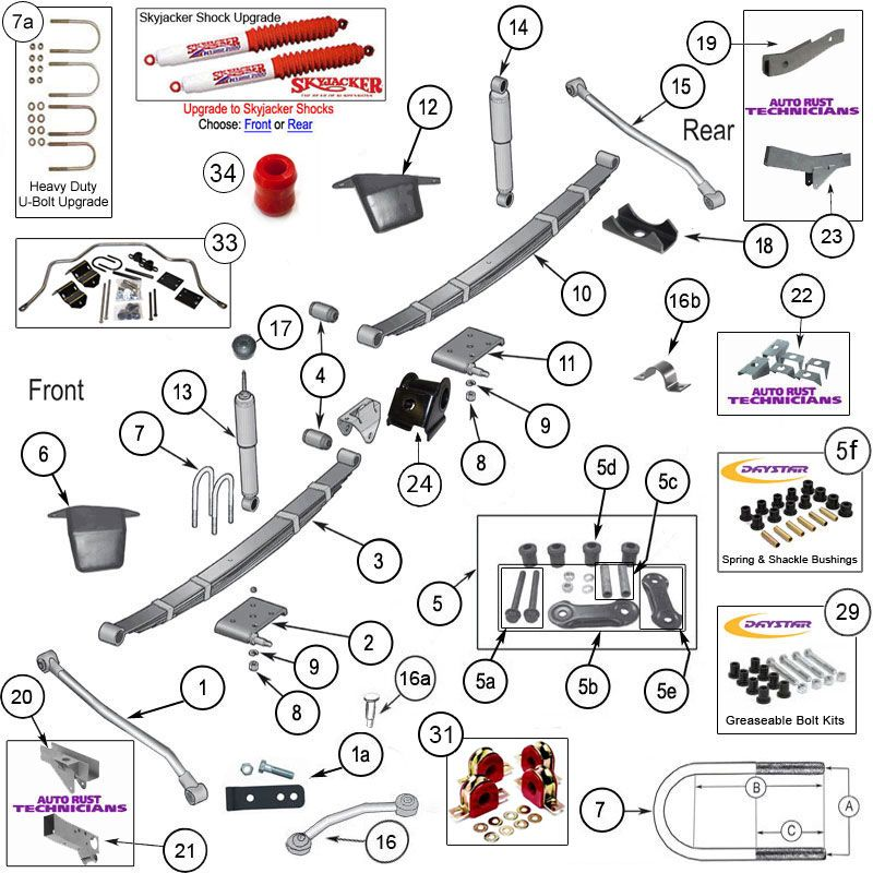Interactive Diagram  Wrangler YJ Steering Parts | Jeep YJ