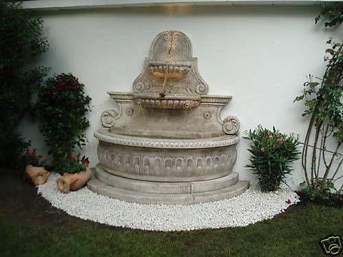Springbrunnen-Brunnen-Garten-Etagenbrunnen-Wandbrunnen Garten - garten brunnen stein ideen