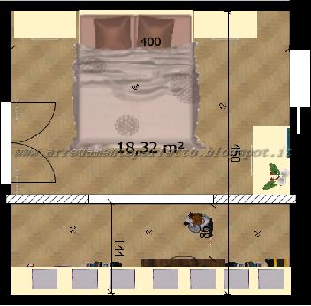 Planimetria camera da letto standard | CABINE ARMADIO | Pinterest | Cozy