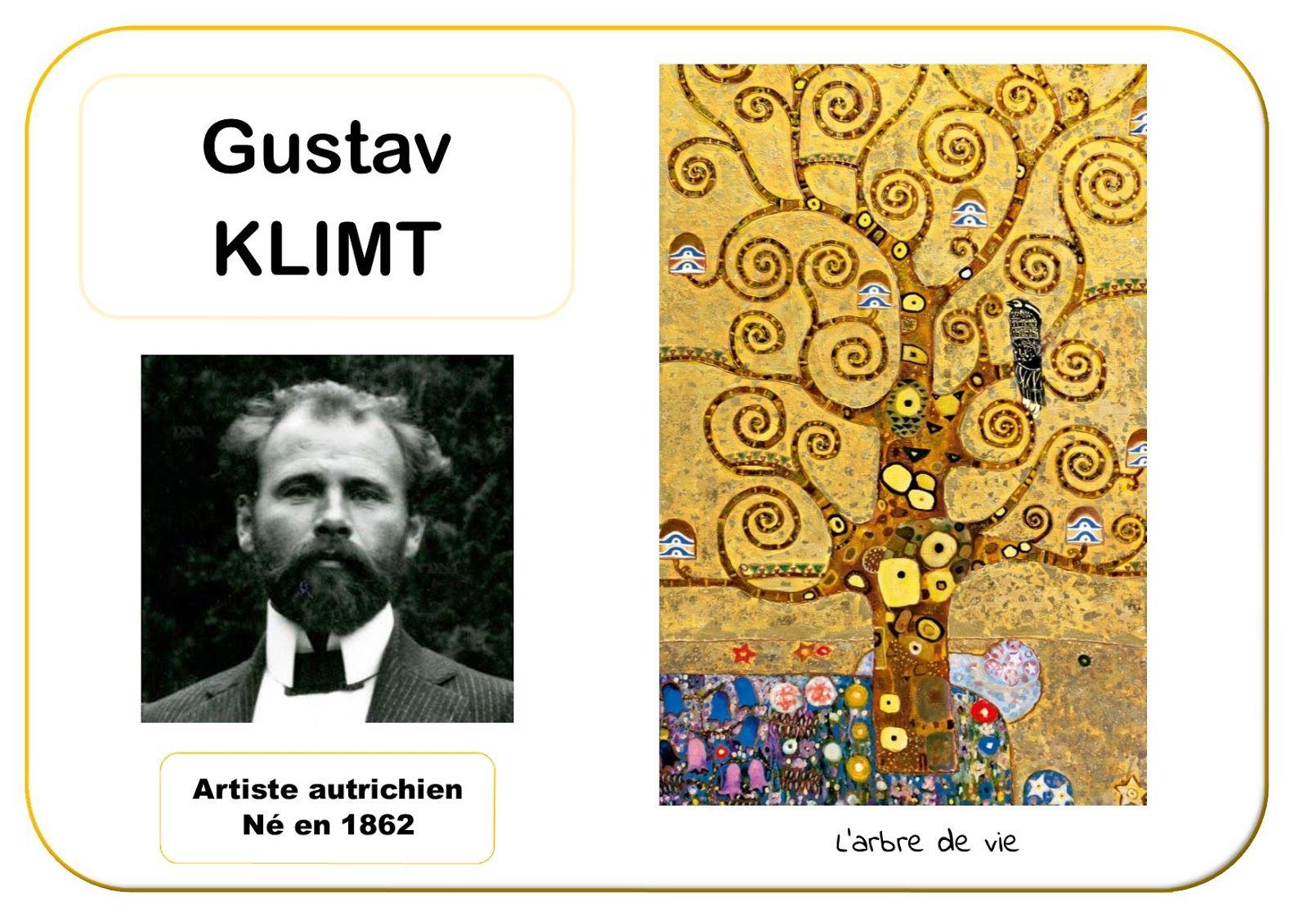 Gustav klimt portrait d 39 artiste inspiration d 39 artistes for Biographie de klimt