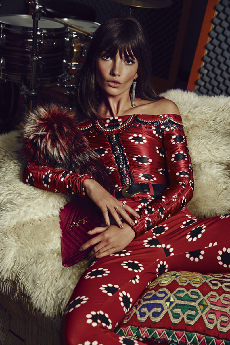 Fashion s style editorial and lily aldridge
