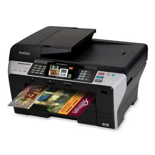 """Brother MFC-6890CDW Color Inkjet Printer   Print, copy, scan and fax on a wide range of paper sizes up to 11"""" x 17"""".   The MFC-6890cdw also includes duplex printing at 8.5"""" x 11"""", wireless (802.11b/g) and Ethernet network interfaces and a TouchScreen 4.2"""" color LCD display.   ONLY $ 464.90 Save: 7% off"""
