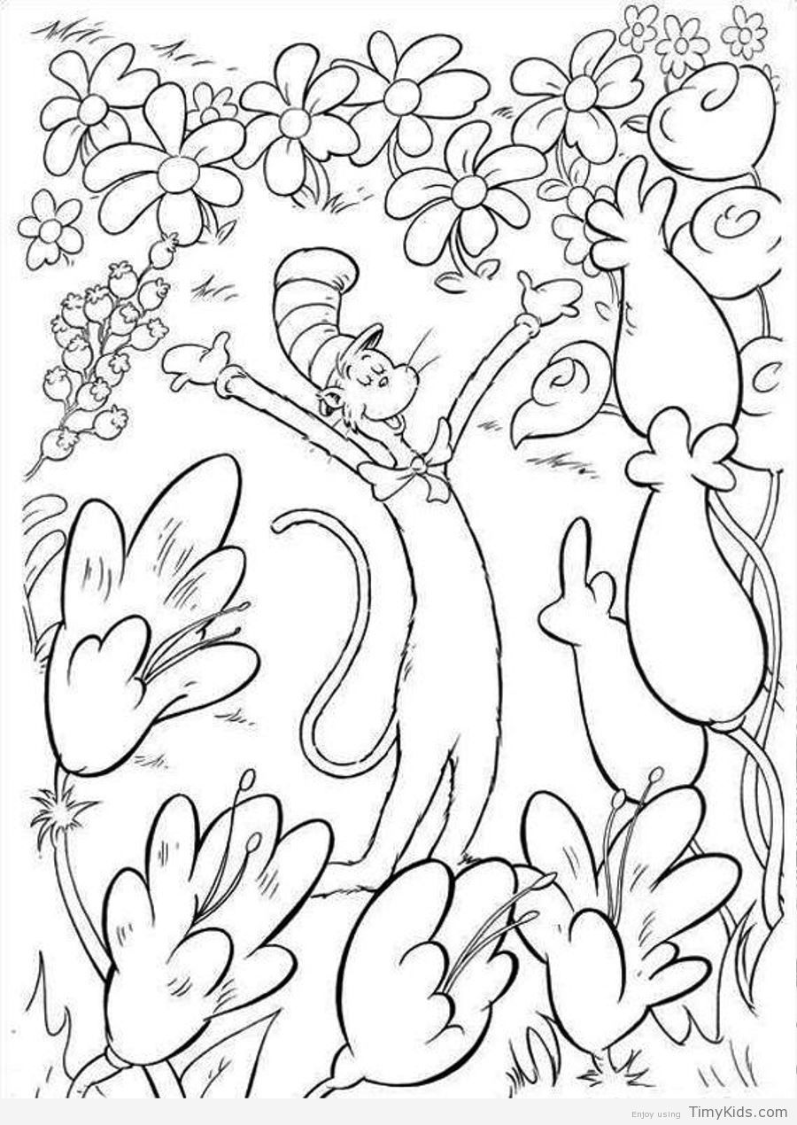 http://timykids.com/dr-seuss-coloring-pages.html | Colorings | Pinterest