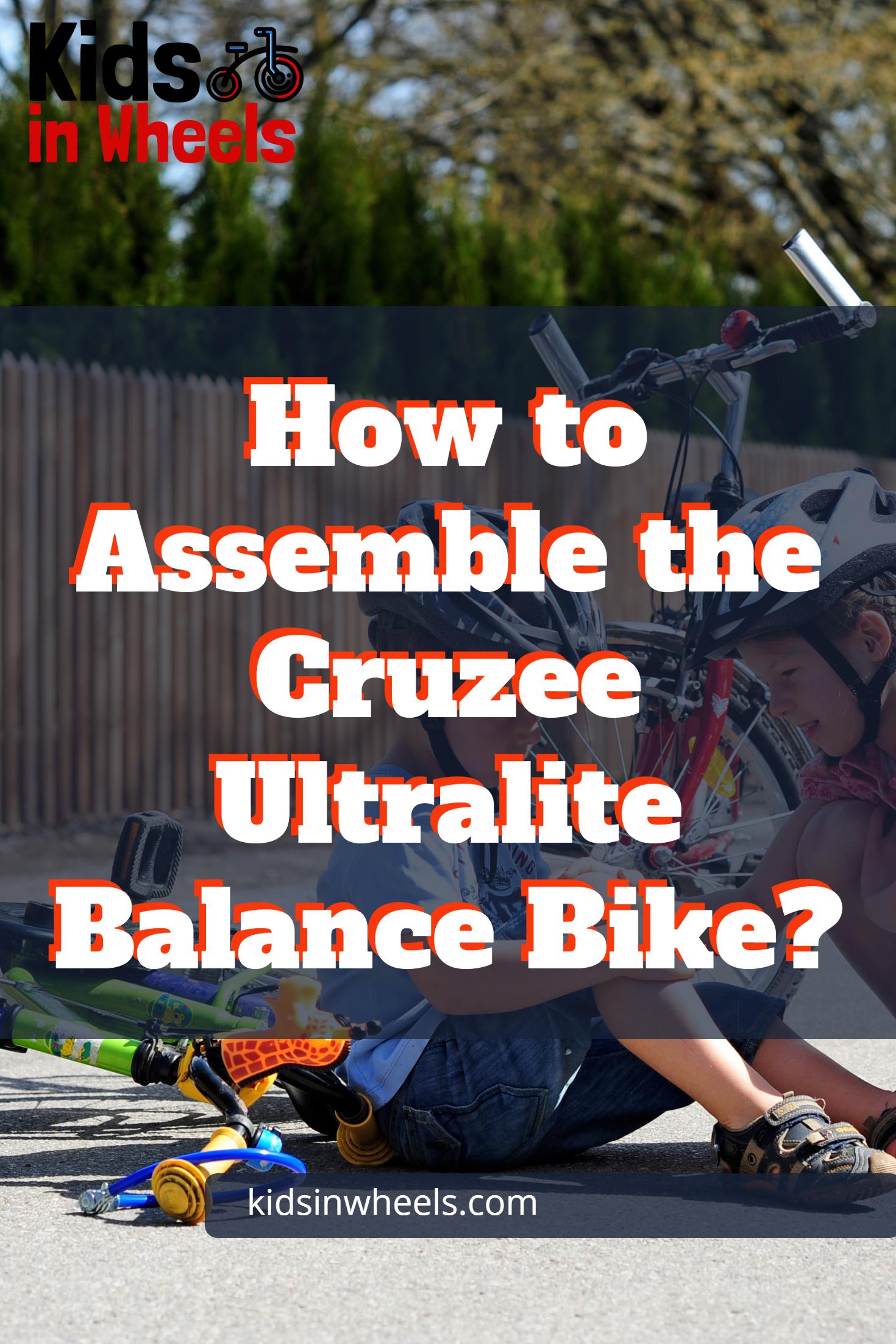 Cruzee Ultralite Balance Bike Review Balance Bike Bike Reviews