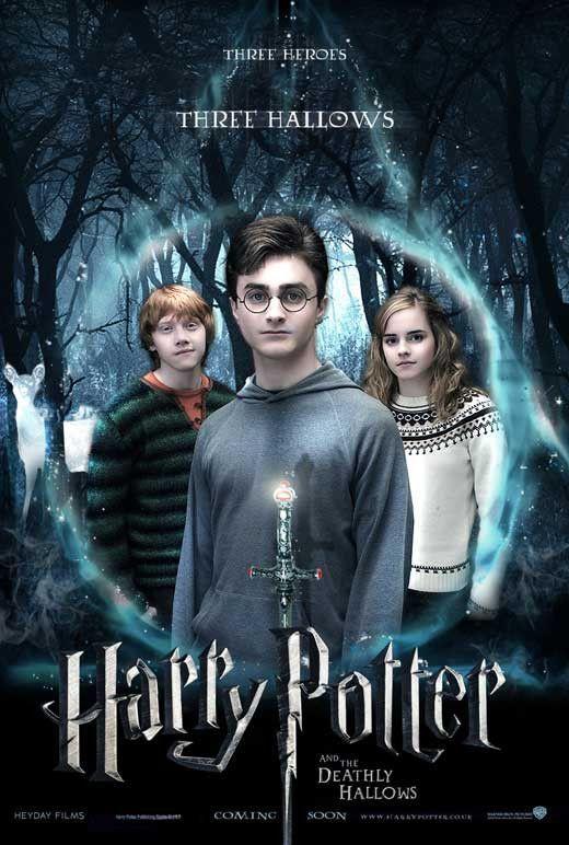 Harry Potter Et Le Prisonnier D Azkaban Film Harry Potter And The Deathly Hallows Part I 11x17 Movie Poster 2010 Harry Potter Movies Harry Potter Movie Posters Harry Potter
