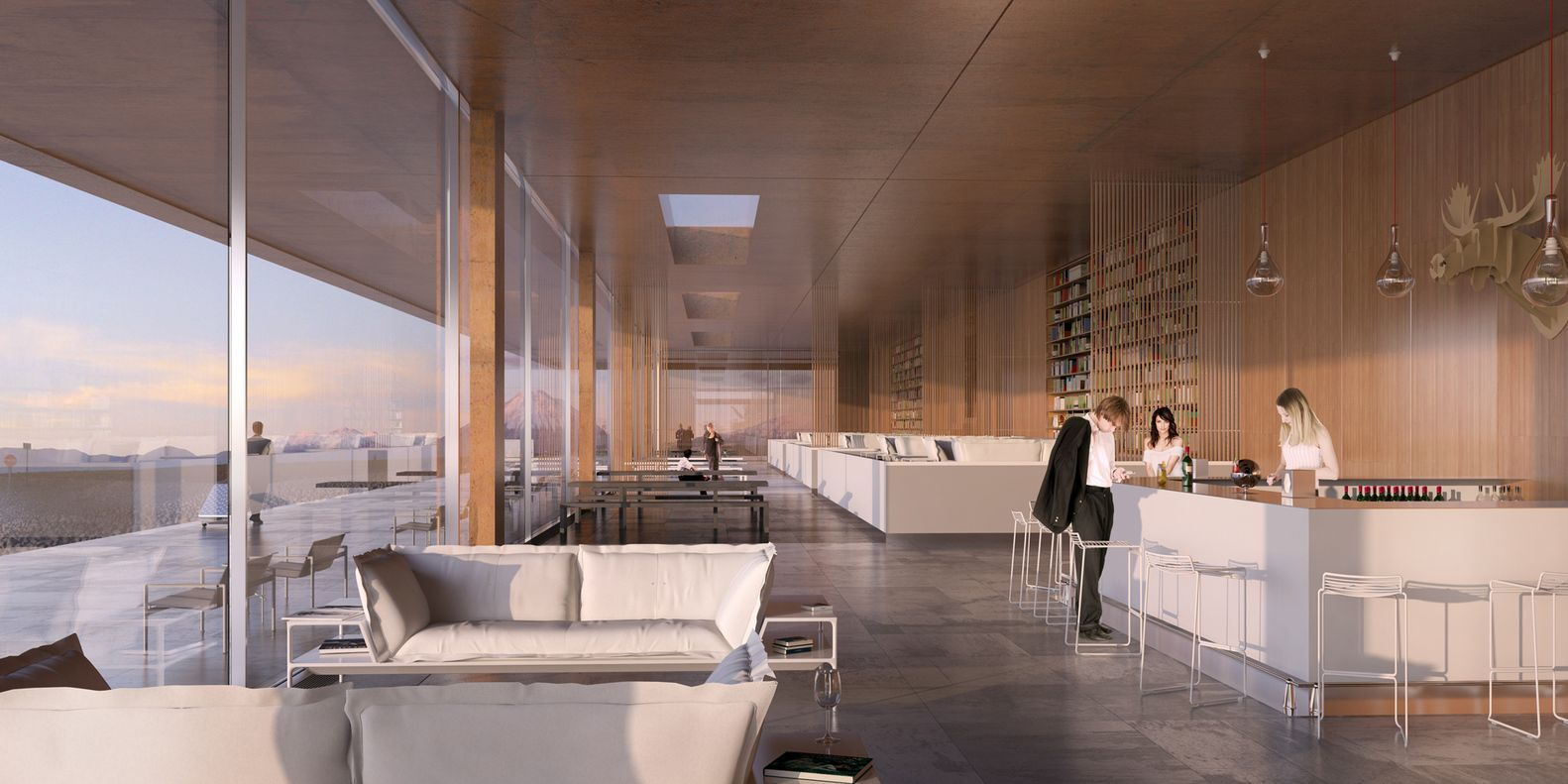 Alma Hotel proposal / LAN Architecture,Courtesy of LAN Architecture