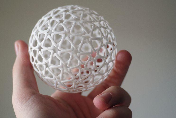 Islamic Christmas Ball Pinshape Christmas Balls 3d Printing Prints
