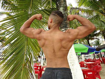 """Exercícios para deixar suas costas em formato de """"V"""" ~ Men´s Physique Clube"""