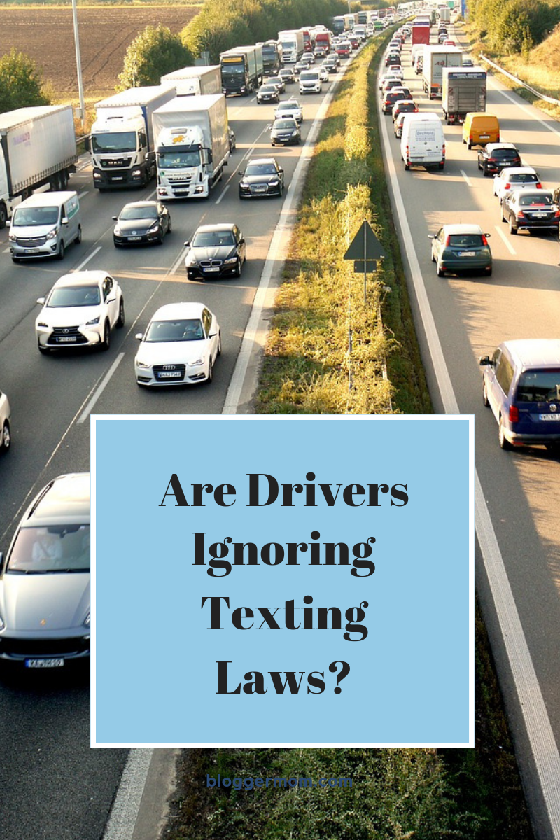 Are Drivers Ignoring Texting Laws? Distracted driving