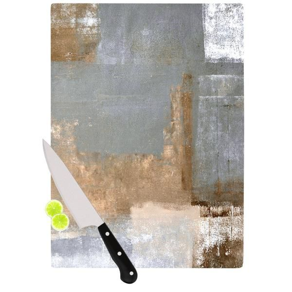 CarolLynn Tice Gifted II Brown Gray Cutting Board