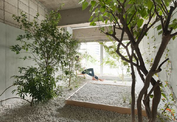 Indoor Garden Bedroom Decor And Natural Design Ideas In Llove Hotel Tokyo