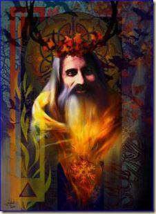 Winter Solstice Fire Lord - Steven Lucas
