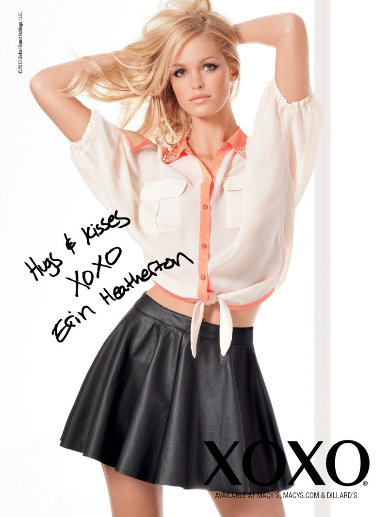 erin heatherton gets glam for xoxo s spring 2013 campaign