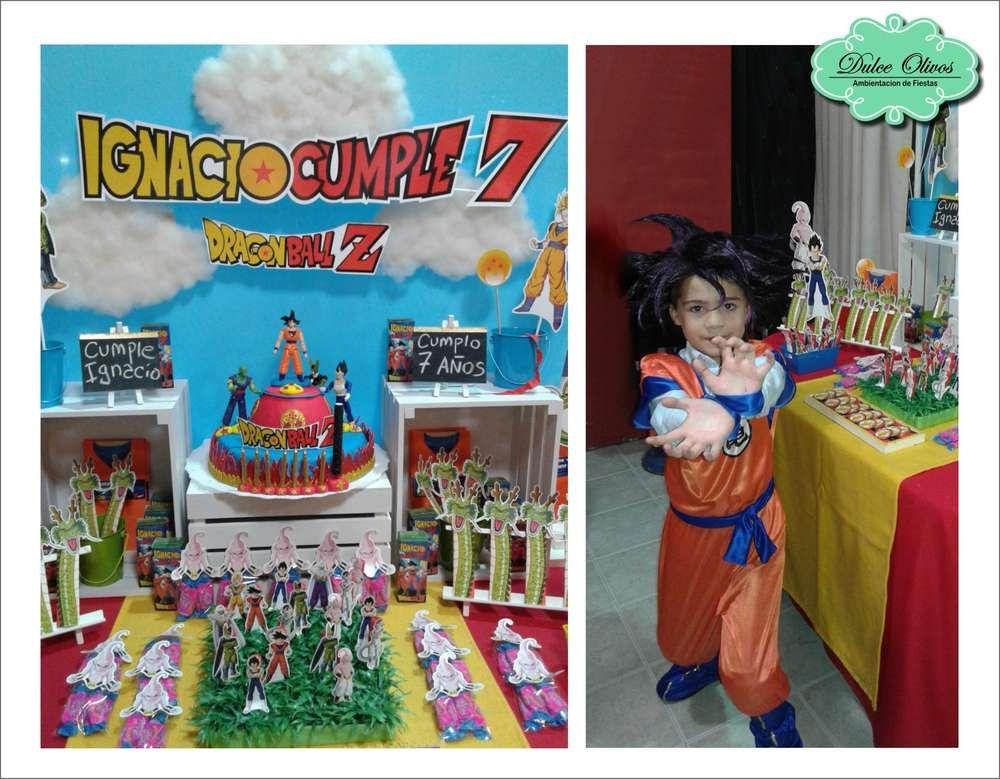 Dragon Ball Z Birthday Party Ideas Photo 3 Of 7 Dragon Ball Z Birthday Party Dragon Ball Z Birthday Birthday Party Supplies