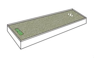 Build your own putting green using a Puttacup. | Indoor ...