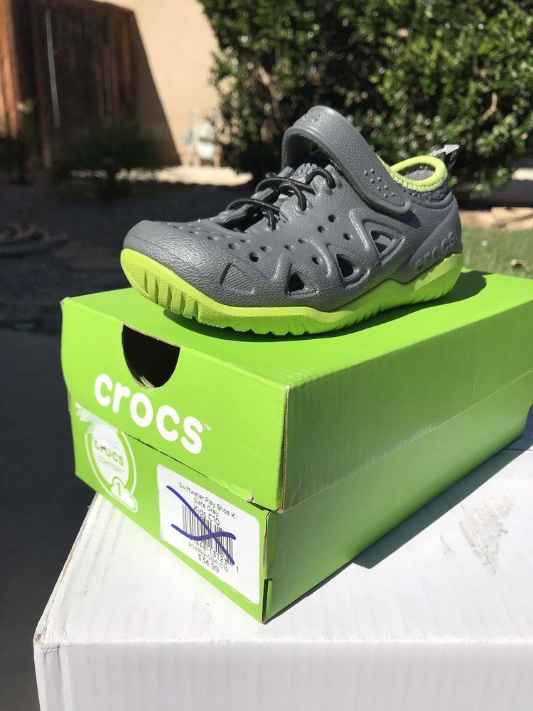 Crocs Swiftwater Play Shoe Color Slate