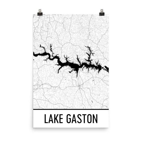 Gaston Nc Map.Lake Gaston North Carolina Lake Gaston Nc North Carolina Map Nc