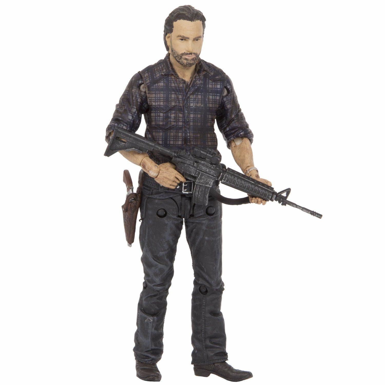 Mcfarlane walking dead series 6 daryl dixon action figure - The Walking Dead Tv Series 7 Woodbury Assault Rick Grimes Action Figure Manufacturer Mcfarlane