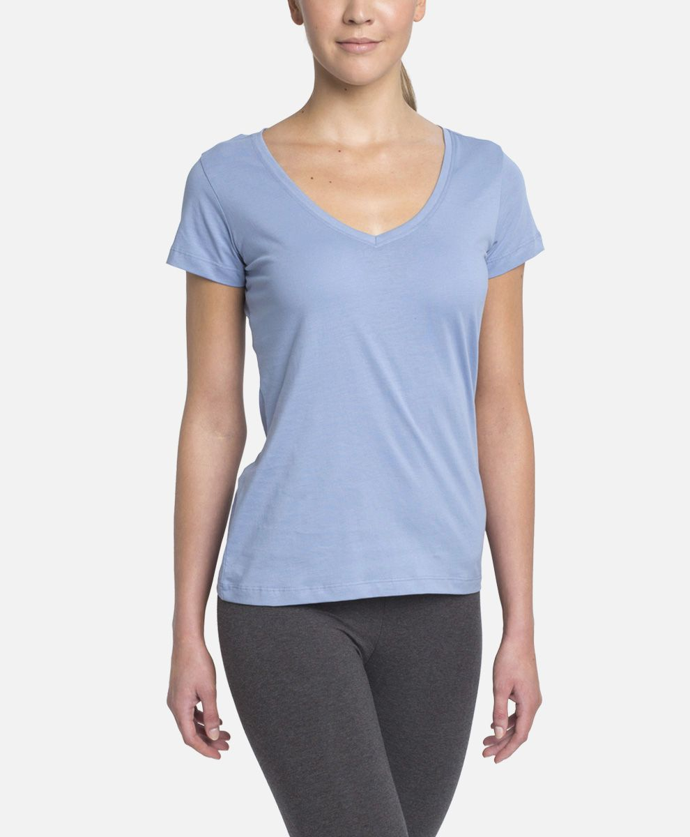 e2c75e9ab Super soft organic cotton women's v-neck tee. Fair Trade Certified cotton v- neck that is perfect for everyday wear. Wear PACT.