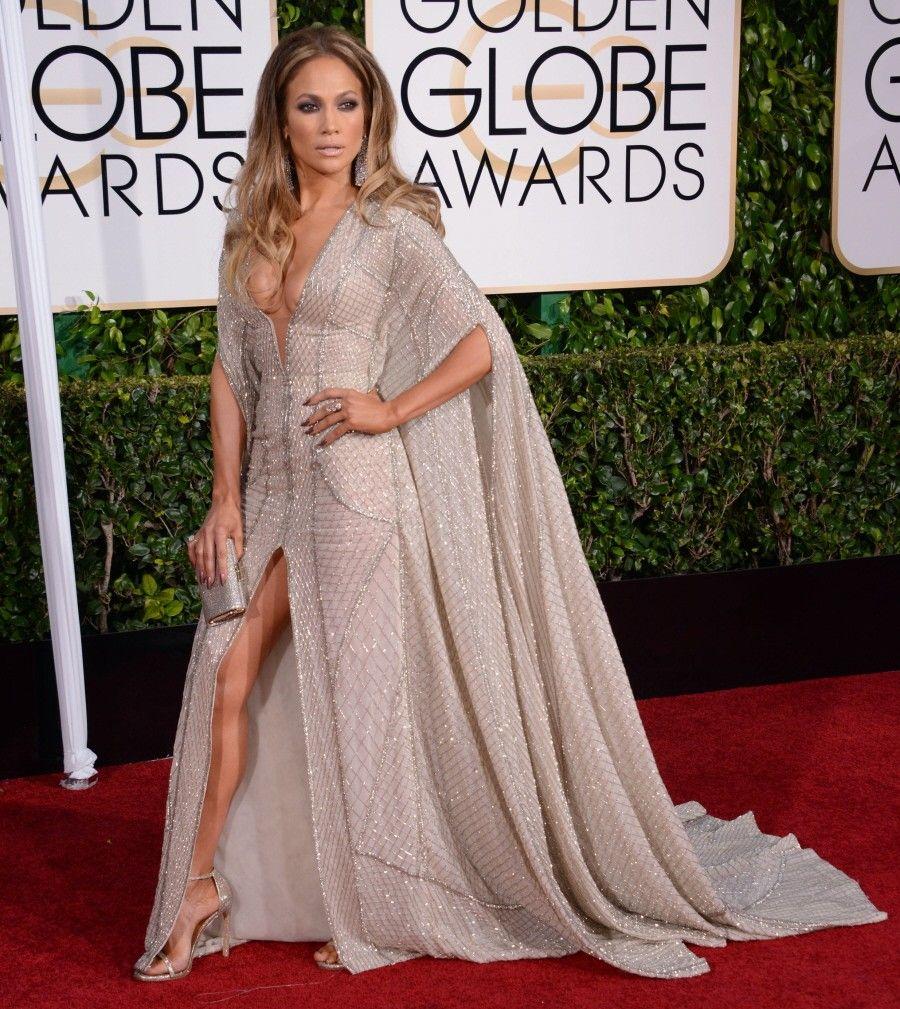 Jlo wedding dress  jennifer lopez zuhair murad couture golden globes  Celebrities