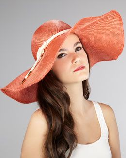Eugenia Kim Coral Sun Hat...perfect for the Kentucky Derby   a97f51eb661