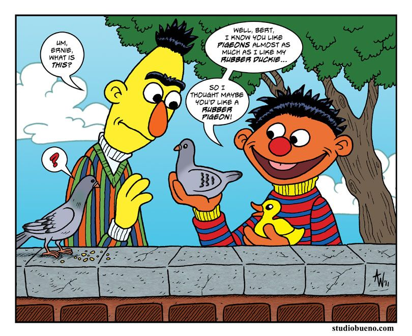 Bert And Ernie By Studiobueno On Deviantart Sesame Street Muppets The Muppet Movie Muppets