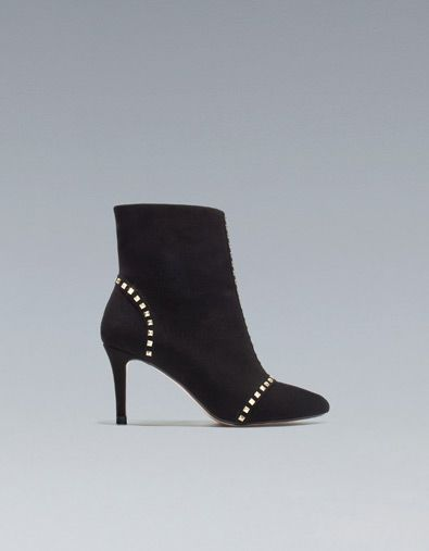 Zara studded ankle boots - just ordered these...will be great for work. 9fefeb3fd3
