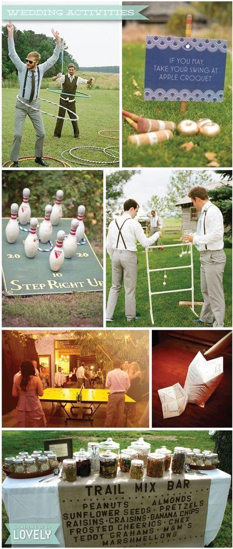 Ideas For Wedding Games And Activities Outdoor Games Wedding Fun