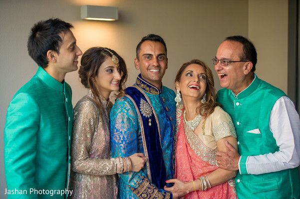 Indian groom's family portrait. http://www.maharaniweddings.com/gallery/photo/96056