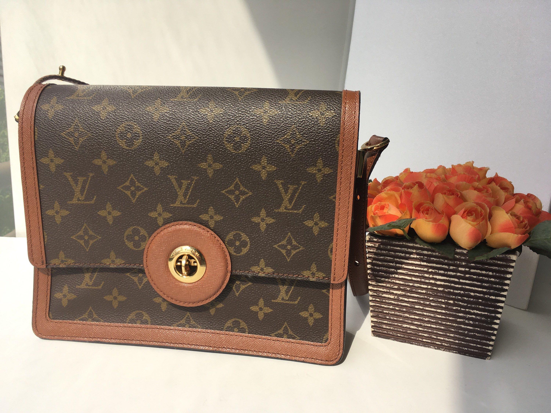 Authentic Vintage Louis Vuitton Bag Crossbody Shoulder Etsy Louis Vuitton Louis Vuitton Monogram Bag Louis Vuitton Bag