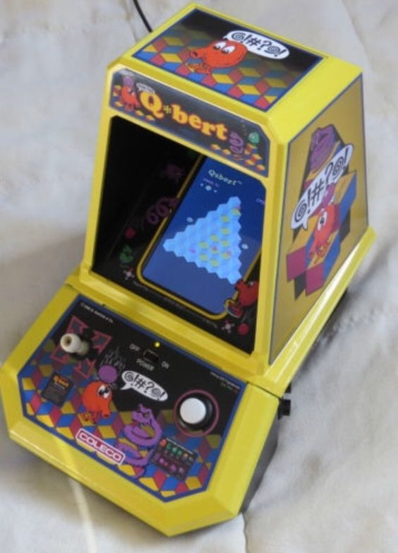 Custom Coleco Tabletop Qbert | Retro gaming , tv shows ...